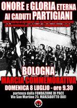 Bologna – Marcia Commemorativa per i Caduti Partigiani